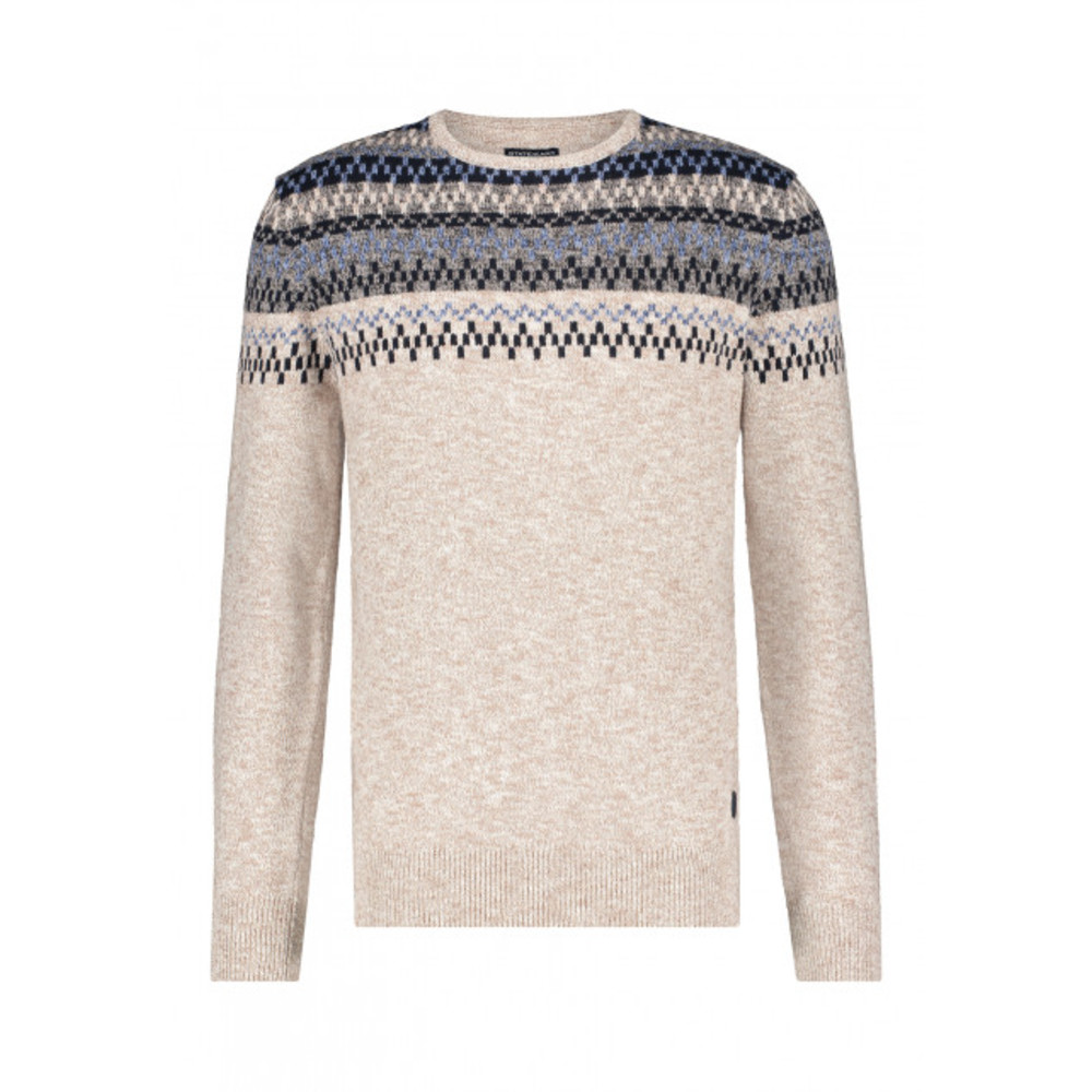 Pullover mouline ronde hals  State of Art