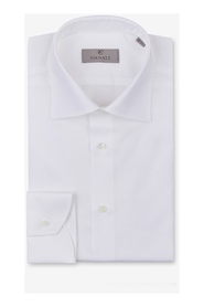 Cotton and linen modern fit shirt