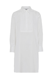 White Fog Day Barca Dress