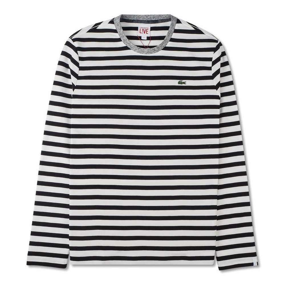 Longsleeve t-shirt with stripes