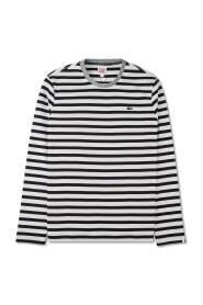 Langermet t-skjorte med striper