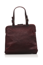 Pony Hair Frame Handbag