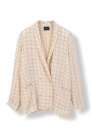Summer Checks blazer