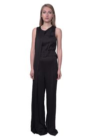 Jumpsuit with panel