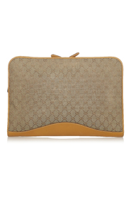 Pre-owned GG Canvas Clutch Bag
