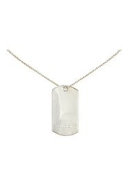 Pre-owned Dog Tag Necklace