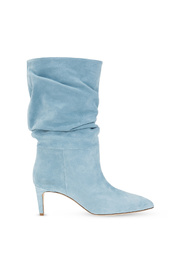 Slouchy heeled ankle boots