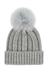 Luxe Pom Beanie Knitted