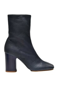 Bathy Grain Ankle Boots Leather
