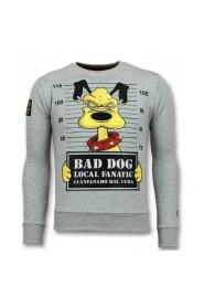 Bad Dog Sweater Cartoon Herre genser