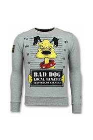 Bad Dog Sweater Cartoon Herrtröja