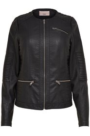 Jacket Curvy leather look