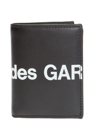 Logo-printed wallet