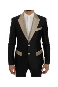 Silk Slim Blazer Jacket