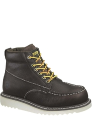 Wolverine Mens Apprentice Twig Full Grain Dark Brown Men
