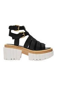 Emilie Sandals in Mat Alter Leather