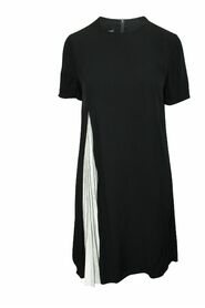 Dress with Pleated Element
