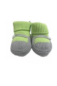 KNITTED SHOE WITH BUCKLE