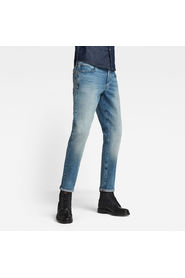 STRAIGHT TAPERED AGED JEANS