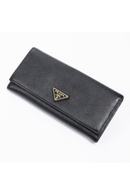 Large Saffiano Flap Wallet
