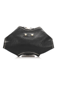 De Manta Studded Clutch Bag