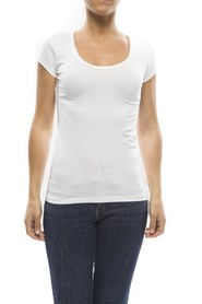 Claesens Ladies T-shirt round neck s/s White