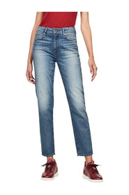 G-STAR D09988 B767 - 3301 HIGH STRAIGHT JEANS Women DENIM LIGHT BLUE