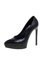 Pre-owned Pointed Toe Platform Pumps