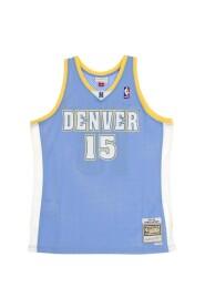 CANOTTA BASKET NBA SWINGMAN JERSEY HARDWOOD CLASSICS NO15 CARMELO ANTHONY 2003-04 DENNUG ROAD