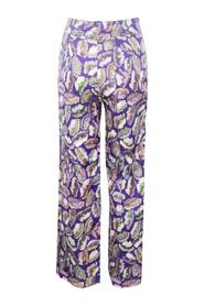Print Petra Straight Pants
