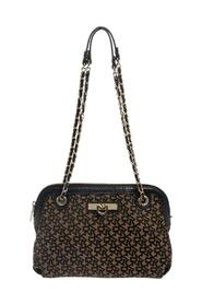 Signature Canvas and Leather Chain Shoulder Bag