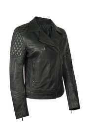 ELEGANCE LEATHER JACKET