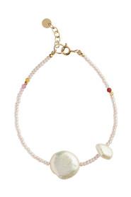 Vanilla Pearl Bracelet