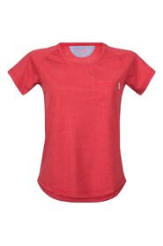 Rød Bergans Lyngør Lady t skjorte