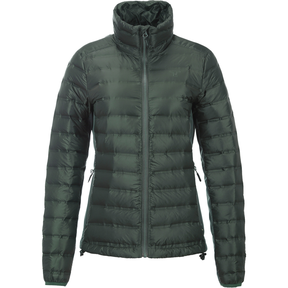 Tenson Iclyn DownJacket Grön Dam