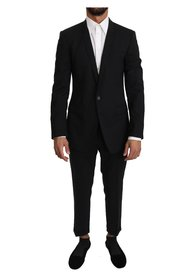 Wool Stretch GOLD 2 Piece Suit