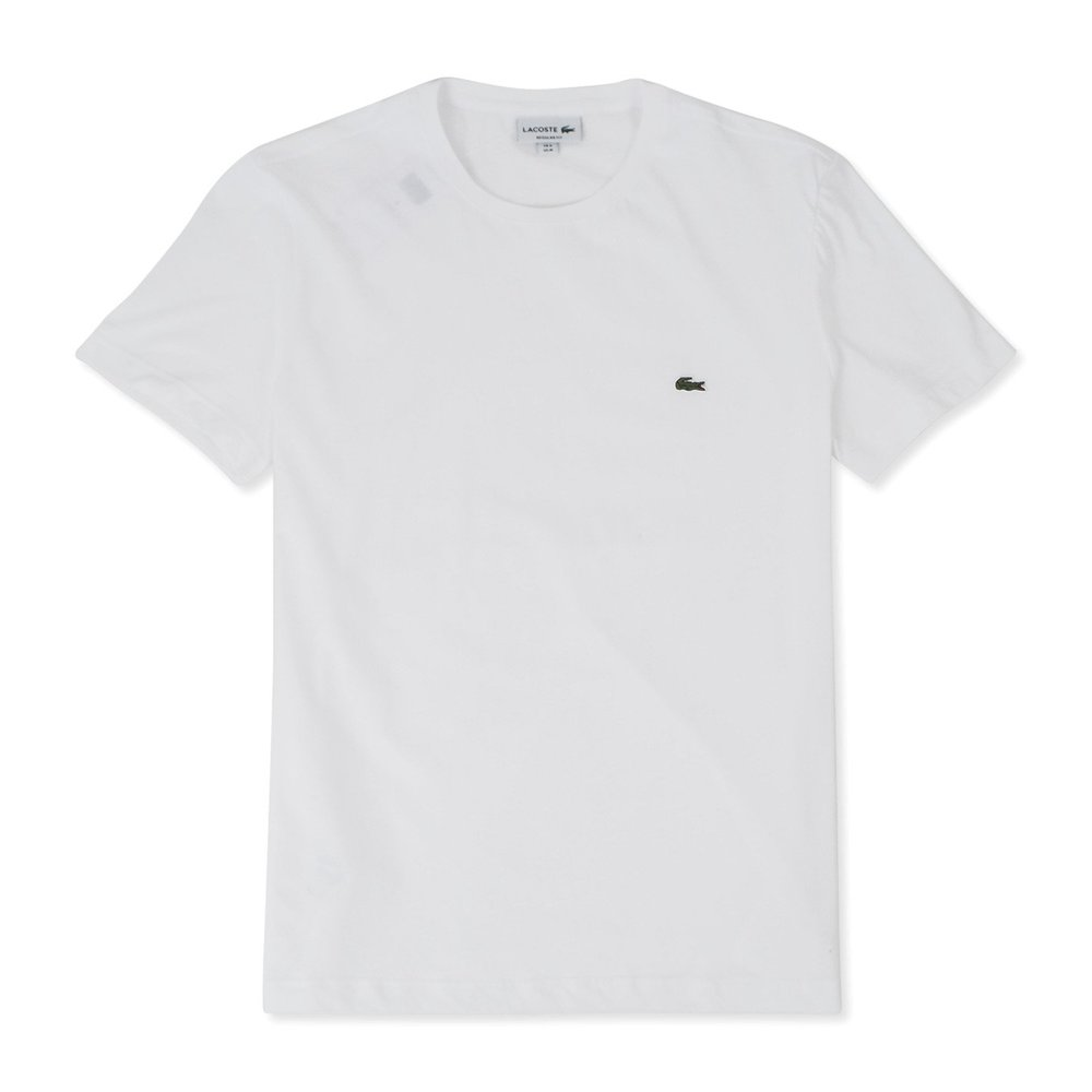 Crew Neck Pima Cotton Jersey T-Shirt