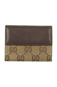 pre-owned Canvas Coin Pouch
