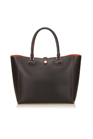 Leather Leo Tote
