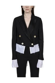 Jacket with Contrast Lining