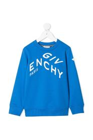 Bul jersey Hoodie with contrasting Logo Print