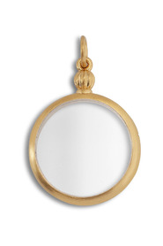 Souvenir Medallion, gold-plated sterling silver