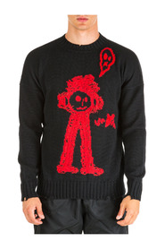men's crew neck neckline jumper sweater pullover sketch