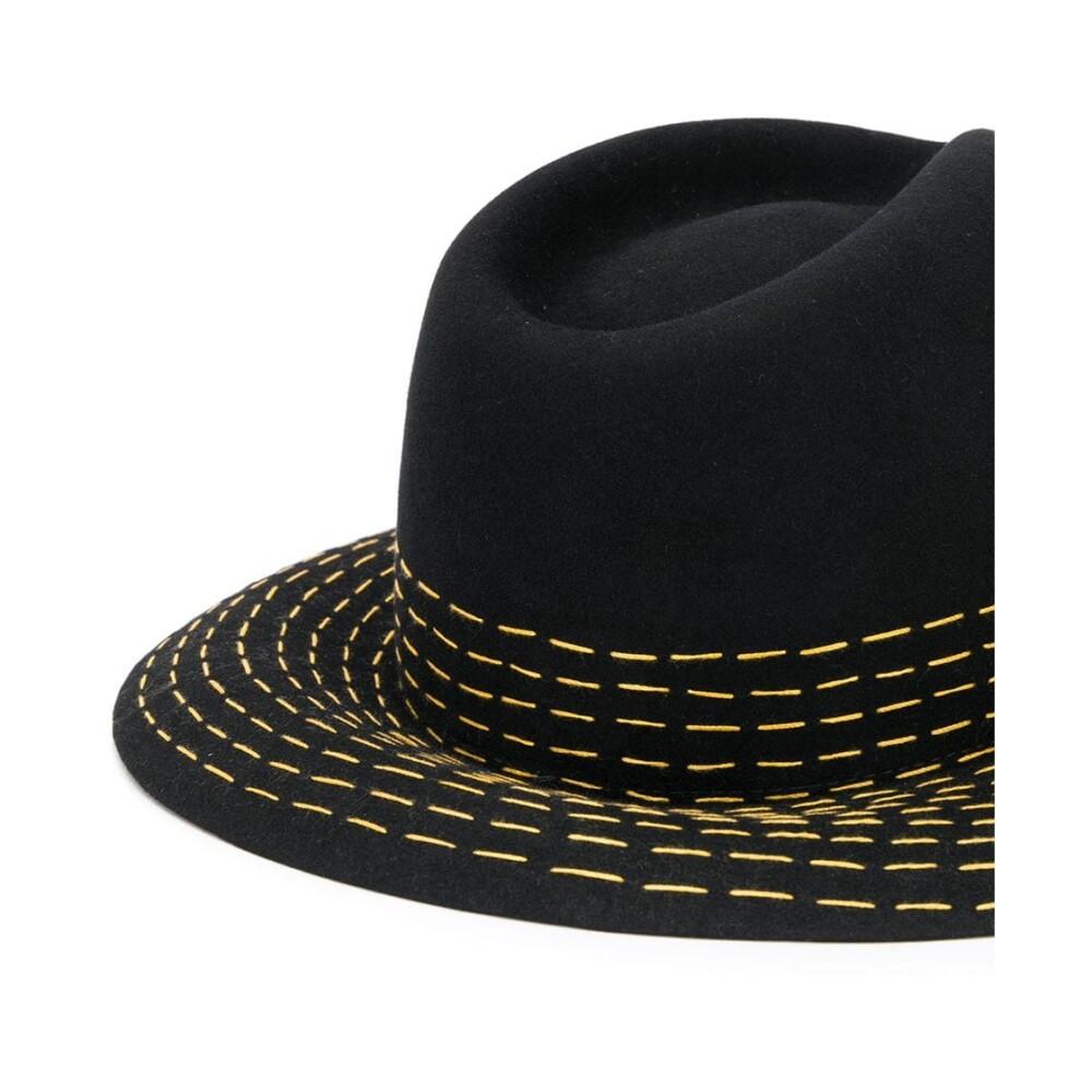 Maison Michel Black Hat Maison Michel