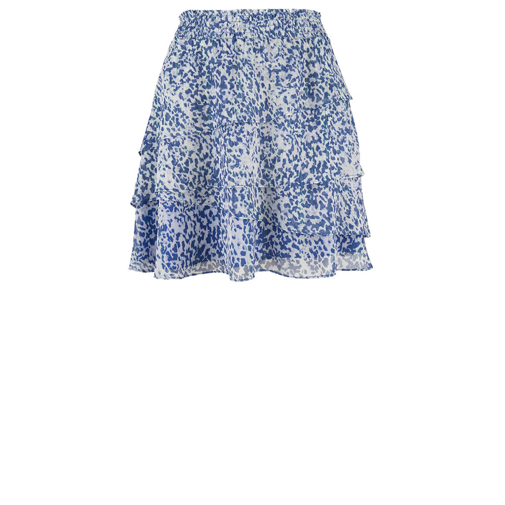 Chess print skirt