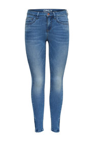 Kendell fotledsslip Skinny fit jeans