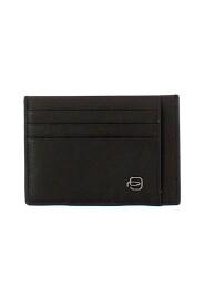 Black Square Credit Card Holder