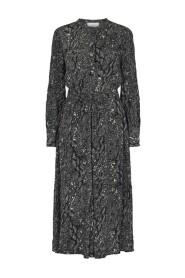 Christie Dress Snake Aop #11930 4999