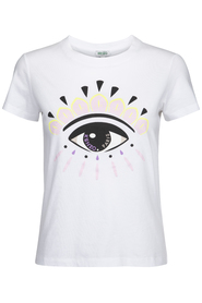 Classic fitted Eye T-shirt, white - T-shirt med Kenzo eye - Kenzo