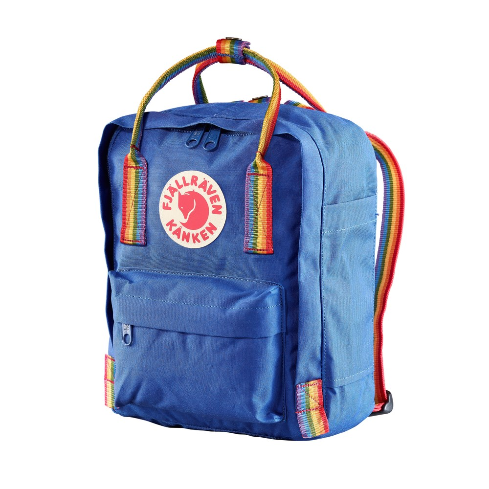 Se Fjällräven Kånken Raindbow Mini Backpack ved Miinto
